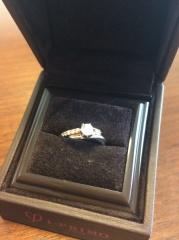 【アイプリモ(I-PRIMO)の口コミ】 夫が既にダイヤモンド(その時点ではネックレスになっていた)を持ってい…