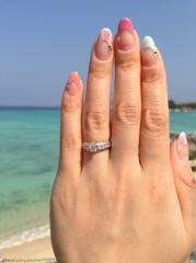 【SA BIRTH(サバース)の口コミ】 他のブランド店の指輪に比べて、青く光るダイヤモンドに魅了されたのが一…
