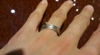 【JEWELRY  KAMATA(ジュエリーかまた)の口コミ】 フルオーダーの結婚指輪を購入するのに、妻と私の共通の趣味のデザインで音…
