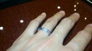 【JEWELRY  KAMATA(ジュエリーかまた)の口コミ】 フルオーダの結婚指輪を購入しました。そこで、二人でデザインを考えるの…