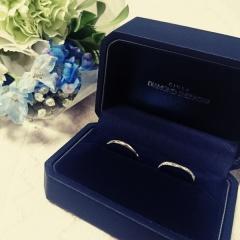 【銀座ダイヤモンドシライシの口コミ】 シンプルで飽きのこないデザインの指輪を探していました。お目当ての店舗が…