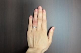 【和光の口コミ】 和光のダイヤモンドはクラリティが最高級です。  婚約指輪購入のために、…