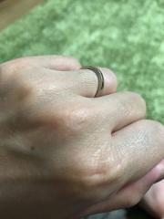 【FIRST DIAMOND(ファーストダイヤモンド)の口コミ】 結婚式の提携先で、お店に行ってみて実際指輪を見て、ゴールドのバリエー…