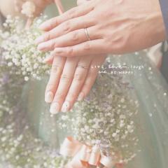 【銀座ダイヤモンドシライシの口コミ】 婚約指輪と結婚指輪は重ね付けするときの相性も考えて、同じブランドが良い…