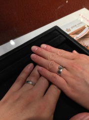 【JEWELRY  KAMATA(ジュエリーかまた)の口コミ】 フルオーダの結婚指輪を購入しました。なんか箇所店を回ってきたのでなん…