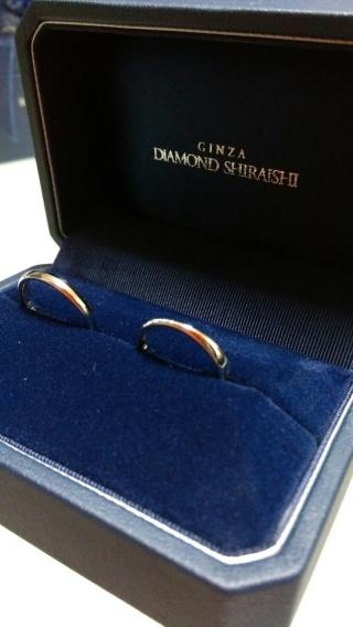 【銀座ダイヤモンドシライシの口コミ】 他のテンポにも行きましたが、ダイヤモンドシライシでは指輪の種類が豊富…