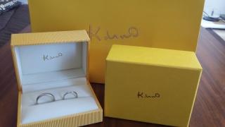 【ケイウノ ブライダル(K.UNO BRIDAL)の口コミ】 自分の、理想の指輪を伝えたところ、デザイナーさんが、すぐにイラストを…