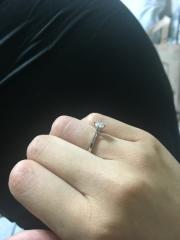【ケイウノ ブライダル(K.UNO BRIDAL)の口コミ】 両親の婚約指輪のリフォームを御願いしました。何軒か回った後でしたが、納…