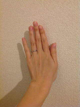 【ブルガリ(BVLGARI)の口コミ】 結婚指輪はやはり一生身につけるものですので、飽きのこない、シンプルな…