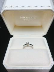 【MIKIMOTO(ミキモト)の口コミ】 ずっとなくならないブランドで購入したいというのが夫のこだわりで、ミキ…