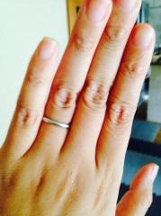 【SUWA(スワ)の口コミ】 予算があまりなく高いブランドの指輪を購入できなかったので値段もお手頃な…