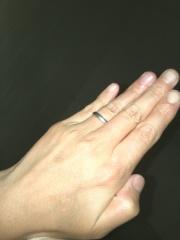 【MIKIMOTO(ミキモト)の口コミ】 婚約指輪をもらっていなかったので、主人も私も結婚指輪にはかなりのこだ…