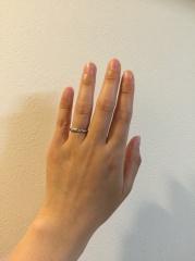 【アイプリモ(I-PRIMO)の口コミ】 ゼクシーなどの結婚情報誌でアイプリモの指輪が取り上げれており、素敵な…