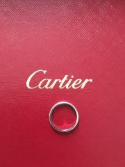 【カルティエ(Cartier)の口コミ】 この指輪の購入前は指輪をまったく着けていなかった為、ダイヤ等の装飾品…