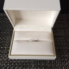 【ヴァンドーム青山(Vendome Aoyama)の口コミ】 シンプルな指輪を探していました。憧れの結婚指輪、ネットでたくさんブラン…