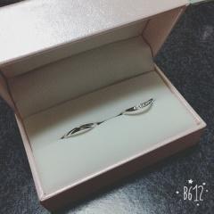 【SONARE(ソナーレ)の口コミ】 デザインがお気に入りでした。ダイヤが輝いて素敵でダイヤの数も私にとって…