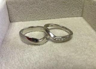 【JEWELRY  KAMATA(ジュエリーかまた)の口コミ】 様々な指輪を見せて頂きました。事前にこんな指輪がいいなぁというイメージ…