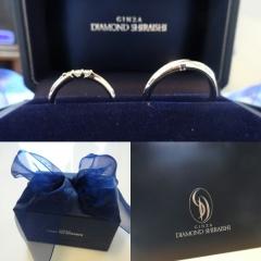 【銀座ダイヤモンドシライシの口コミ】 店員さんが親切にアドバイスをくれました!いろいろ見てたくさんの指輪を…