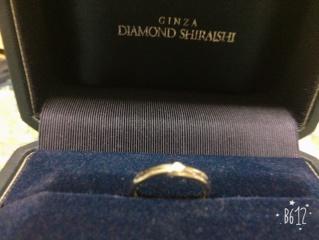 【銀座ダイヤモンドシライシの口コミ】 エバーアフターとは 絵本の幸せに暮らしましたとさ の意味があるらしくい…