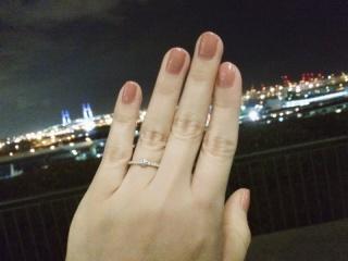 【スタージュエリー(STAR JEWELRY)の口コミ】 スタージュエリーで婚約指輪を買うのがずっと夢だったので、ブランドは元…