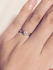 【MIKIMOTO(ミキモト)の口コミ】 幼い頃に新聞の一面広告でミキモトの婚約指輪を見てから、婚約指輪はミキモ…