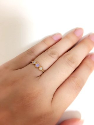 【ete(エテ)の口コミ】 定番のダイヤモンドの指輪も雑誌や店舗のチラ見などなどでとても憧れては…