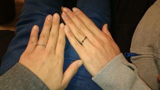 【銀座ダイヤモンドシライシの口コミ】 店員さんに、当時の流行と自分の指の色に合うリングをいくつかピックアップ…