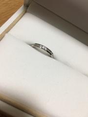 【PILOT BRIDAL(パイロットブライダル)の口コミ】 色んな指輪をつけてみたけど、一番デザインも可愛くて自分にあっていたの…