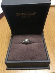 【JEWELRY  KAMATA(ジュエリーかまた)の口コミ】 婚約指輪を購入希望で、探していて友人の紹介でお店に行きました。 色々と…