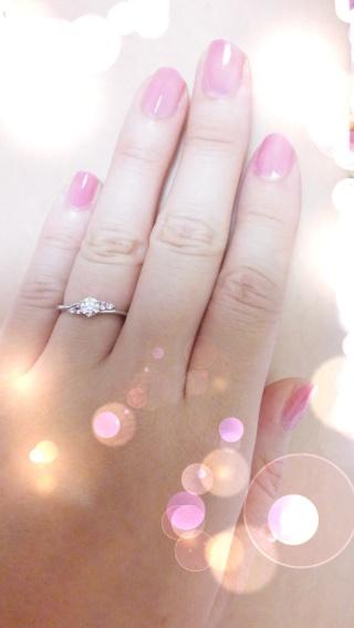 【Mariage(マリアージュ)の口コミ】 アーム部分の幅が非常に華奢で、それが3~4号サイズの小さな自分の指には…
