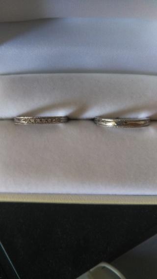 【WATANABE / 宝石・貴金属 渡辺の口コミ】 婚約指輪をこちらでかって気に入ったので結婚指輪も買いました。最初はセッ…
