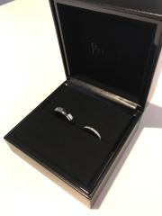 【ピアジェ(PIAGET)の口コミ】 指輪を一目見て購入を決定しました!   ダイヤの輝きがすごく素敵で華やか…
