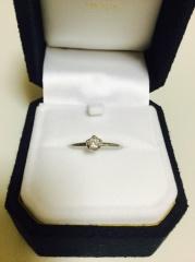 【festaria bijou SOPHIA(フェスタリア ビジュソフィア)の口コミ】 指輪のカットが星型でした。他のお店にはない、ここだけのカット手法で星の…
