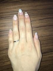 【カルティエ(Cartier)の口コミ】 指輪をはめた瞬間、キラキラと輝いて見えた!この直感が一番の決め手です…