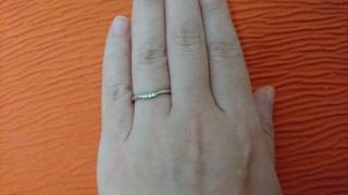 【アイプリモ(I-PRIMO)の口コミ】 ほとんどすべて試着してみました。 担当のかたに指が短いのがコンプレック…
