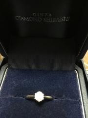 【銀座ダイヤモンドシライシの口コミ】 初めて指輪を見に行きましたので何もわからない状態でした。 色々なタイプ…