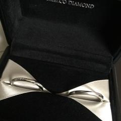 【エクセルコダイヤモンド(EXELCO DIAMOND)の口コミ】 普段使いでも、ダイヤ付きのが欲しいとこちらのブランドを。 引っかかりが…