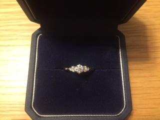 【銀座ダイヤモンドシライシの口コミ】 はじめは、ティファニーのハーモニーと悩んでいたのですが、ダイヤモンド…