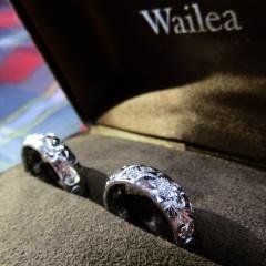 【Wailea(ワイレア)の口コミ】 旦那と話し合って、シンプルなものより個性的なものを色々探していました…