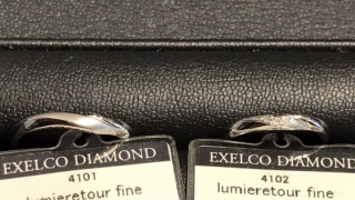 【エクセルコダイヤモンド(EXELCO DIAMOND)の口コミ】 写真だと少しわかりづらいですが、ゆるやかなVライン(Uライン?)が美し…