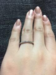 【銀座ダイヤモンドシライシの口コミ】 ダイヤモンドの入った指輪が欲しくて、こちらのブランドに興味があったの…