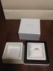 【LUCIE(ルシエ)の口コミ】 普段使いでき、結婚指輪と一緒に重ね着け出来るものを探していたところ、一…