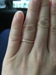 【Jewel HAMA(ジュエルはま)の口コミ】 ただ指輪を購入するのではなく、2人で世界にたった一つだけの結婚指輪を作…