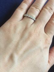 【銀座ダイヤモンドシライシの口コミ】 初めからゼクシィで調べていてダイヤモンドの輝きが1番とあり、訪問したら…