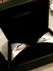 【エクセルコダイヤモンド(EXELCO DIAMOND)の口コミ】 シンデレラのガラスの靴とナイト騎士のデザインが一生あなたをお守りします…