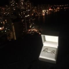 【Koa Nani(コアナニ)の口コミ】 元々ハワイアンジュエリーが好きでハワジュにするか好きなブランドの指輪に…