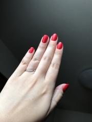 【銀座ダイヤモンドシライシの口コミ】 私の指は太くて短いのがコンプレックスです。なので結婚指輪を買う以前から…