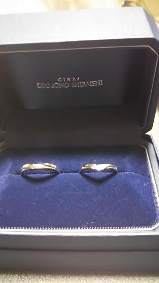 【銀座ダイヤモンドシライシの口コミ】 指が綺麗に見えるデザインで、自分の指に馴染んで、着け心地がいいのと、サ…