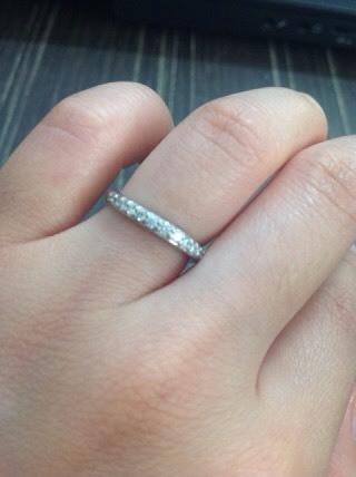 【ラザール ダイヤモンド(LAZARE DIAMOND)の口コミ】 夫はともかく、私はずっと付け続けるつもりでいたので、毎日の生活に付けて…