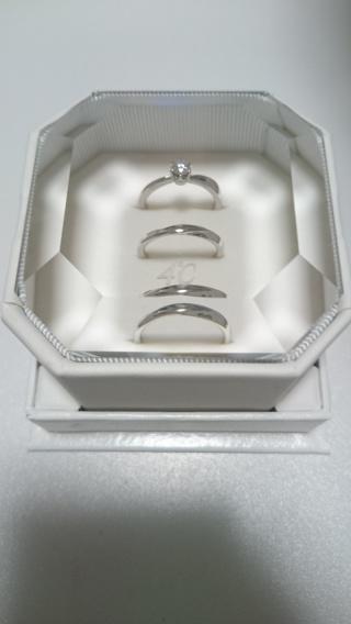 【4℃(ヨンドシー)の口コミ】 指がきれいに見えること、そしてダイヤが主張しすぎずシンプルなデザイン…